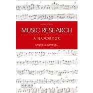 Music Research A Handbook