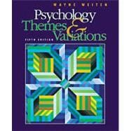 Psychology With Infotrac: Themes & Variations