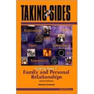 Taking Sides : Clashing Views in Family and Personal Relationships