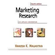 Marketing Research : An Applied Orientation
