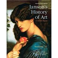 Janson's History of Art Volume 2 Reissued Edition Plus NEW MyArtsLab for Art History -- Access Card Package