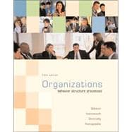 Organizations : Behavior, Structure, Processes