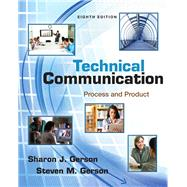 Technical Communication Process and Product Plus MyWritingLab with eText -- Access Card Package