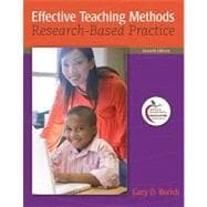Effective Teaching Methods : Research-Based Practice