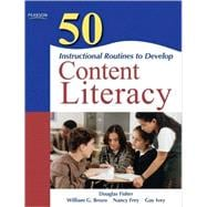 50 Instructional Routines to Develop Content Literacy 9780137057191R