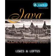Java Software Solutions: Foundations of Program Design, Codemate, Enhanced