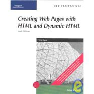 New Perspectives on Creating Web Pages With Html and Dynamic Html: Comprehensive