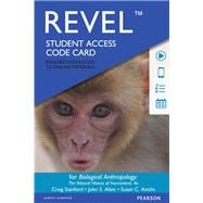 REVEL for Biological Anthropology The Natural History of Humankind -- Access Card