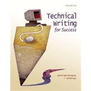 Technical Writing for Success, 3rd Edition