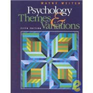 Psychology Themes and Variations (Non-InfoTrac Version)