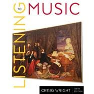 Popular & Global Music CD for Wright's Listening to Music, 6th