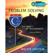 Problem Solving with C++ : The Object of Programming, CodeMate Enhanced Edition