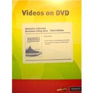 Videos on DVD for Statistics Informed Decisions Using Data