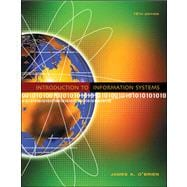 Introduction to Information Systems: Book With Cd-rom + Passcode for Online Website