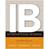 International Business, 15/e