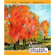 Algebra for College Students Value Pack (includes Tutor Center Access Code & Student's Solutions Manual for Algebra for College Students)