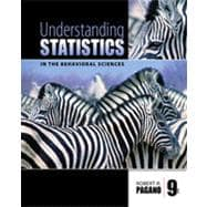 Understanding Statistics in the Behavioral Sciences, 9th Edition