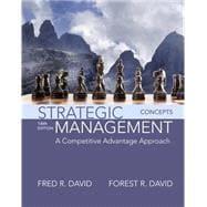 Strategic Management A Competitive Advantage Approach, Concepts Plus MyManagementLab with Pearson eText -- Access Card Package
