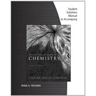 Student Solutions Manual for Oxtoby/Gillis' Principles of Modern Chemistry, 7th