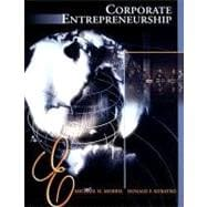 Corporate Entrepreneurship Entrepreneurial Development within Organizations