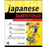Japanese Demystified A Self-Teaching Guide