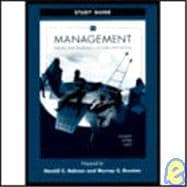 Study Guide to accompany Management
