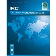 2009 International Residential Code For One-and-Two Family Dwellings Soft Cover Version