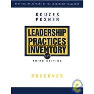 The Leadership Practices Inventory (LPI): Observer, 3rd Edition