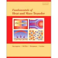 Fundamentals of Heat and Mass Transfer, 6th Edition