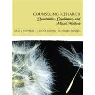 Counseling Research Quantitative, Qualitative, and Mixed Methods