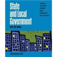 State and Local Government, 2010-2011 Edition