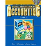 Fundamentals of Accounting Course 2 Chapters 18-26