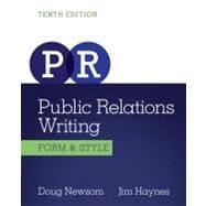 Public Relations Writing Form & Style