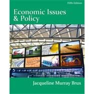 Economic Issues and Policy, 5th Edition