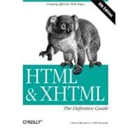 HTML and XHTML : The Definitive Guide