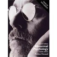 Abnormal Psychology An Integrative Approach (with CD-ROM and DSM-IV, Non-InfoTrac Version)