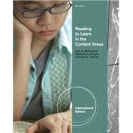 Reading to Learn in the Content Areas 9781111827335R