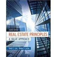 Real Estate Principles : A Value Approach