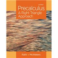 Precalculus A Right Triangle Approach Plus NEW MyMathLab with Pearson eText -- Access Card Package