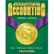 Century 21 Accounting General Journal: Introductory Course, Chapters 1-17