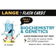 Biochemistry and Genetics : 150 Cards for Course Review and USMLE Preparation