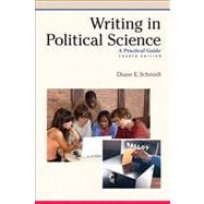 Writing in Political Science A Practical Guide