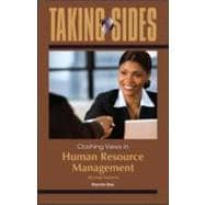 Taking Sides: Clashing Views in Human Resource Management