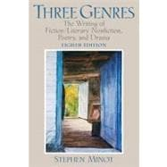 Three Genres : The Writing of Fiction/Literary Nonfiction, Poetry, and Drama