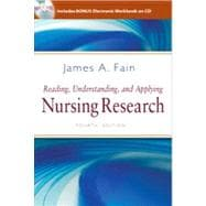 Reading, Understanding, and Applying Nursing Research (Book with CD-ROM)