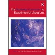 The Routledge Companion to Experimental Literature 9781138797383R
