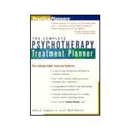 Complete Psychotherapy Treatment Planner : An Options Handbook