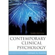 Contemporary Clinical Psychology, 3rd Edition