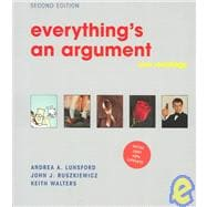 Everything's an Argument with Readings : With 2001 APA Update