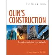 Olin's Construction: Principles, Materials, and Methods Ninth Edition